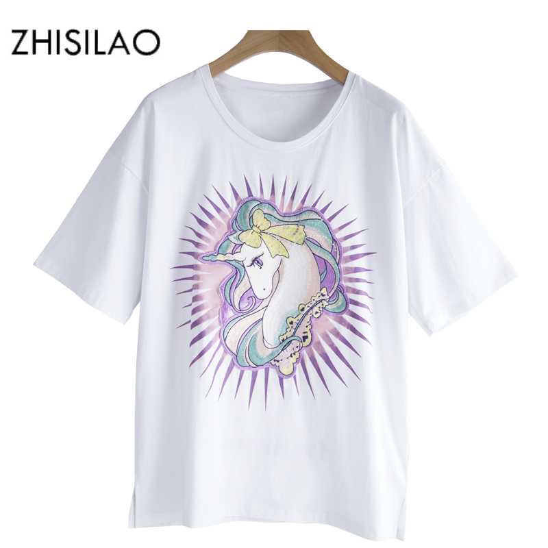 unicorn t shirt women's